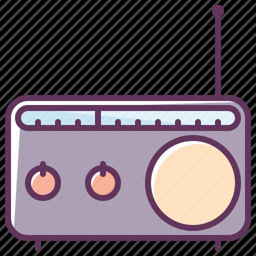 appliance, audio, device, music, radio, sound, volume icon