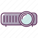 appliance, device, electronics, film, media, technology, video icon