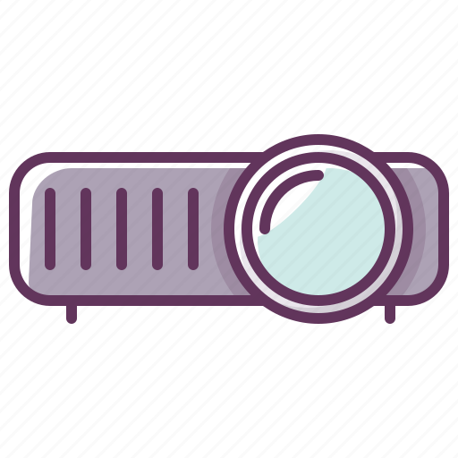 appliance, device, electronics, film, media, technology, video icon