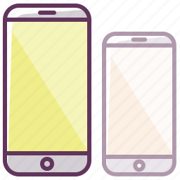 appliance, electronics, iphone, mobile, phone, screen, smartphone icon