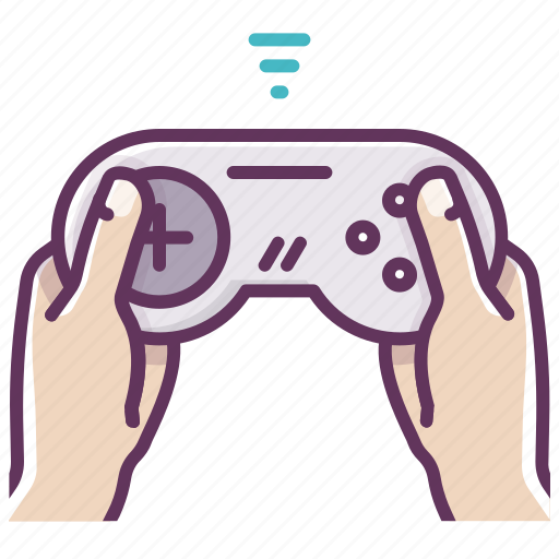 appliance, electronics, game, gamepad, hands, network, play icon