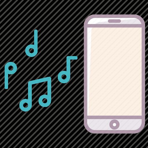 device, electronics, iphonemusic, notes, phone, smartphone icon