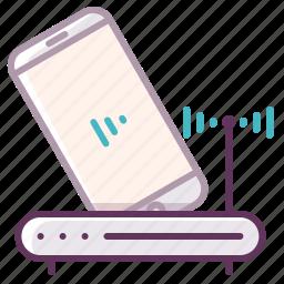 appliance, device, electronic, electronics, network, technology, wi-fi icon