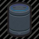 alexa, assistant, home, smart, speaker, voice icon