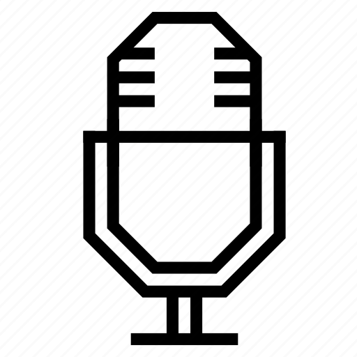 audio, device, microphone, podcast, radio, recorder icon
