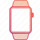 apple, clock, device, screen, time, timer, watch icon