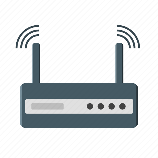 device, internet, modem, router, signal icon