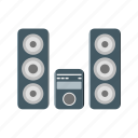 device, sound, speakers, theatre, volume icon