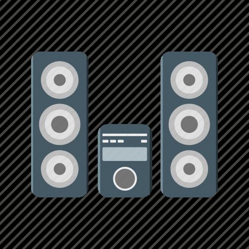 device, sound, speakers, theatre, volume icon