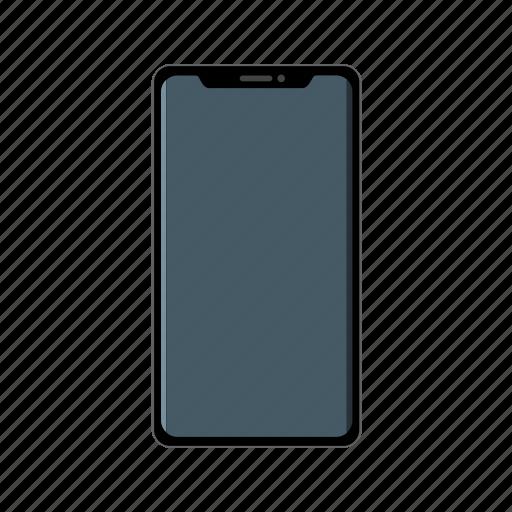 apple, device, iphone, mobile, x icon