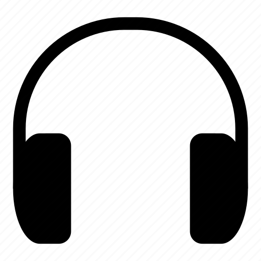 audio, headphones, headset, music icon