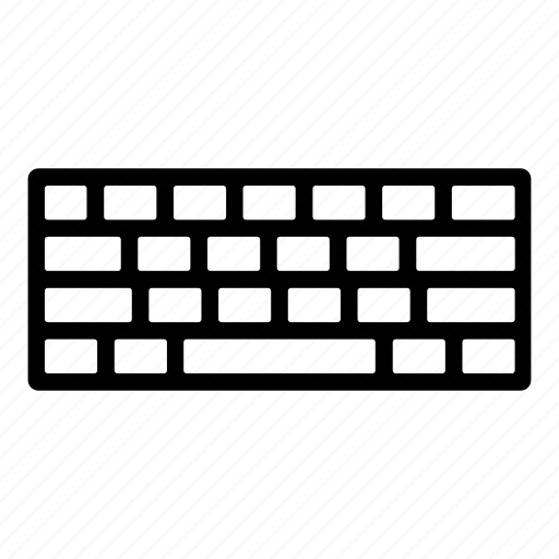 keyboard, pc, peripheral, typing icon