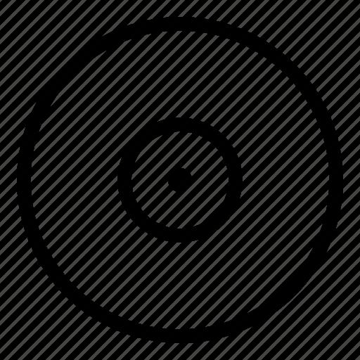 lp, record, sound, vinyl icon