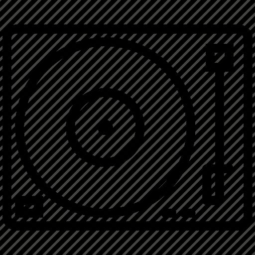 audio, dj, lp, mix, music, record, recording, sound, turntable icon