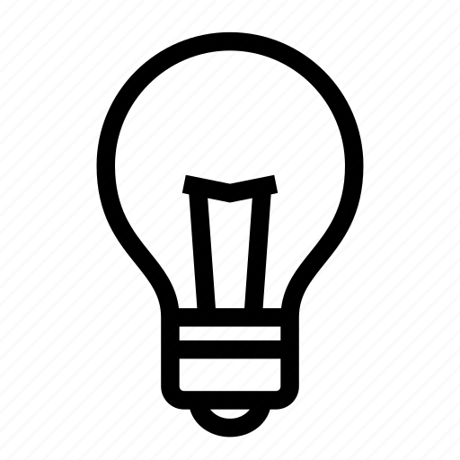 bulb, electricity, energy, flash, idea, light, power icon