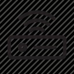 communication, gadget, internet, media, modern, router, technology icon