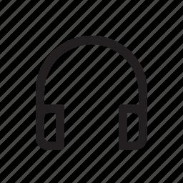 communication, gadget, headset, internet, media, modern, technology icon