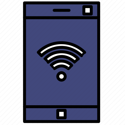 connection, mobile, phone, smartphone, wi-fi icon