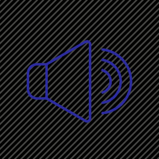 sound, voice, volume, volume icon icon