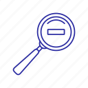 glass tol, magnify, magnifying glass icon