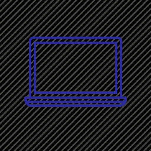 device, item, laptop, technology icon
