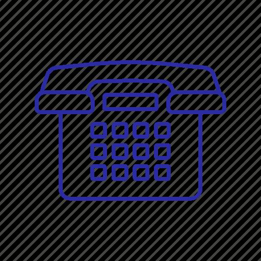 call, device, phone icon, telephone icon