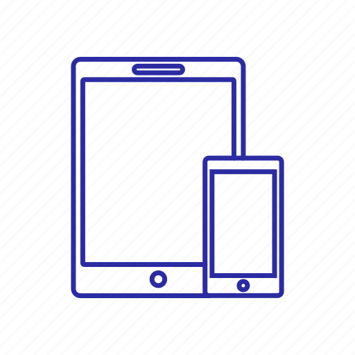 device, phone, screen, tablet icon