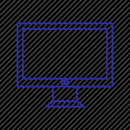 computer, device, pc screen, screen icon