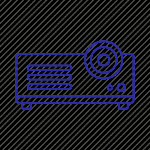 cinema, film, media, movie, projector icon