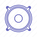 bass, buss icon, music icon