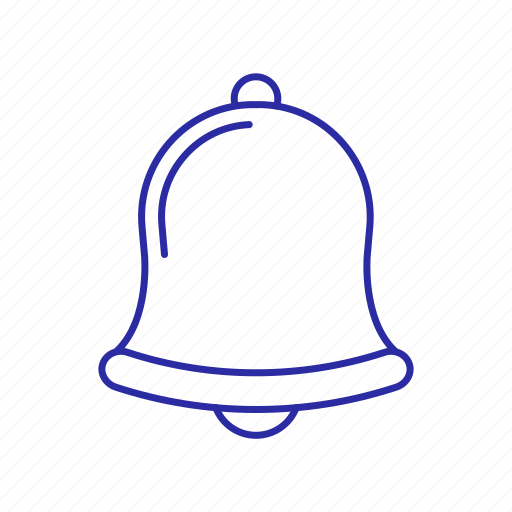 bell, gold bell, ring icon