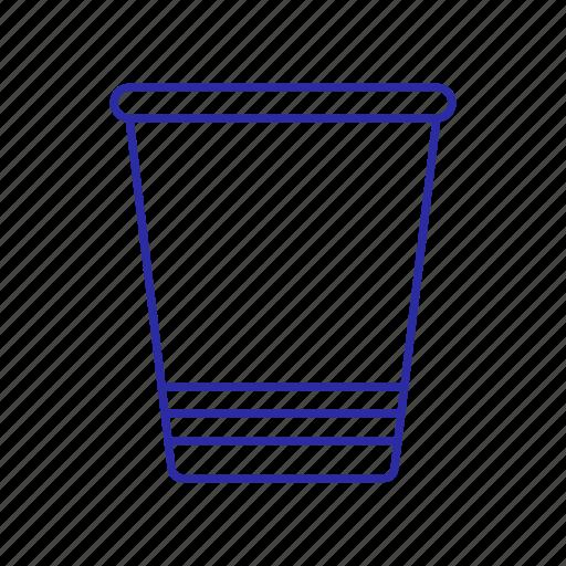 and, bucket, device, media icon