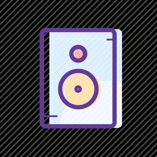 audio, music, sound, speakers icon