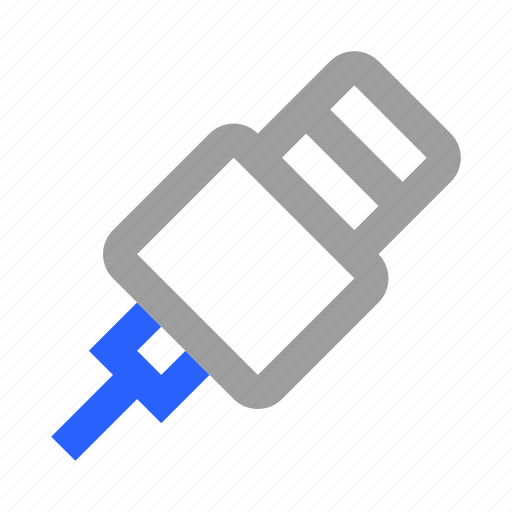Cable, charge, connector, electricity, energy, plug, wire icon - Download on Iconfinder