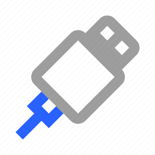 Cable, connector, cord, electricity, plug, usb, wire icon - Download on Iconfinder