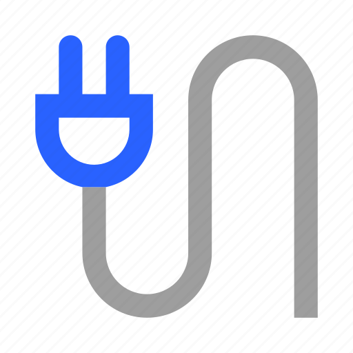 Cable, connector, electricity, energy, plug, power, wire icon - Download on Iconfinder