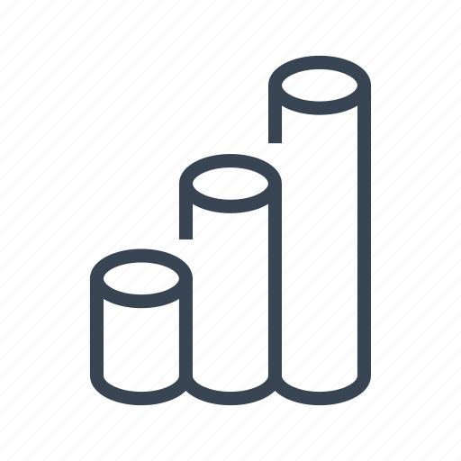 bar, chart, diagram, graph, growth, increase icon