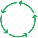 analytics, chart, circular, diagram, graph icon