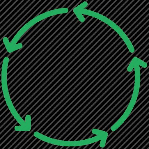 analytics, chart, circular, diagram, graph icon