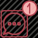 alerts, bell, interface, paper, sheet, text