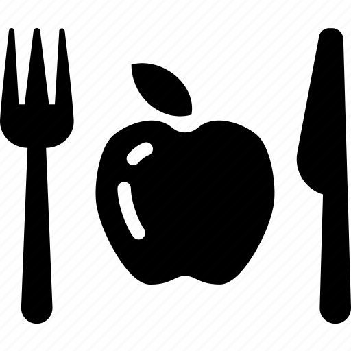 apple, clean, diet, food, fruit, vegetarian icon