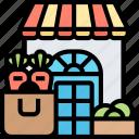store, shop, food, vegetables, fresh
