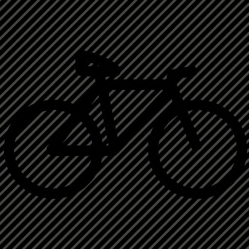 bike, diet, fitness, gym, health, weight, work icon