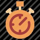 coach, laps, run, stopwatch, time icon