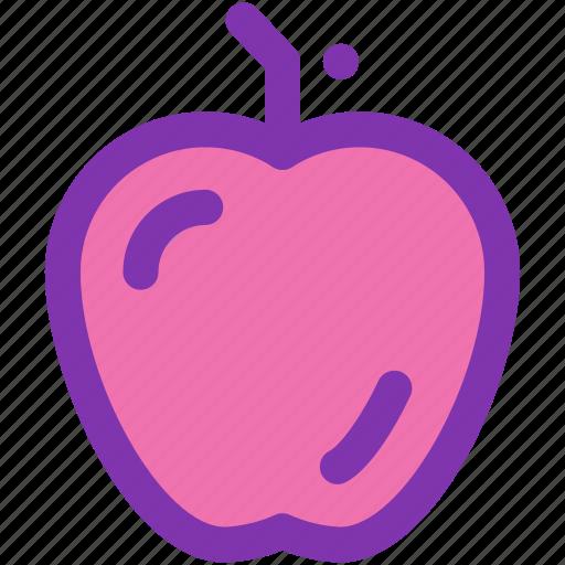 apple, diet, food, fruit, health icon