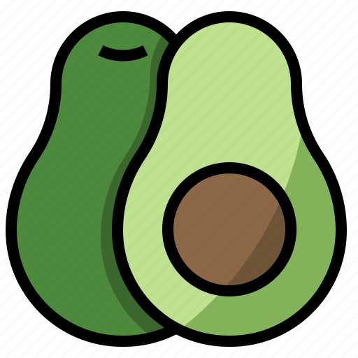 avocado, diet, fruit, nutrition, vegetable icon