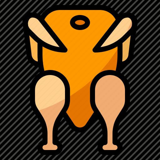 chicken, diet, nutrition, protien icon