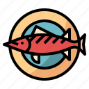 diet, dish, fish, meal, nutrition icon