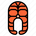 diet, fish, meal, nutrition, salmon icon
