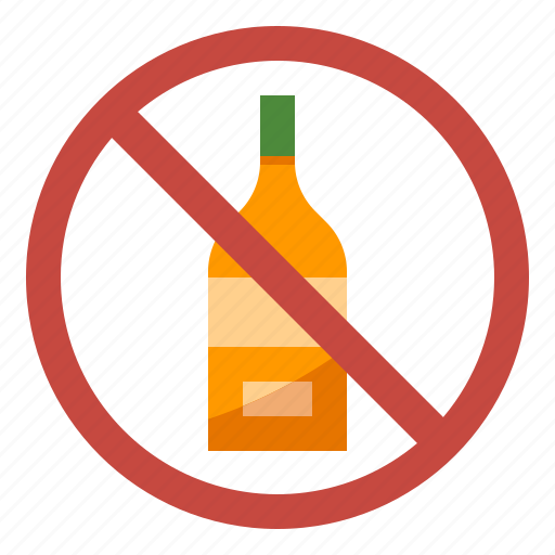 Alcohol, diet, drink, no, nutrition icon - Download on Iconfinder